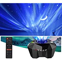 VSM Dream Aurora/Northern Light/Star Projector Light, Real Moon Like Projection, 5 in 1, Timer, Bluetooth Speaker…