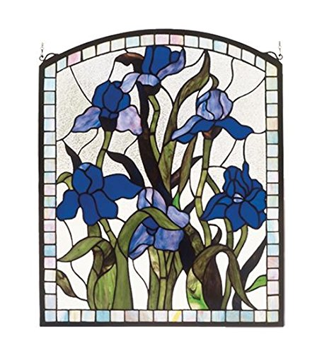 Iris Stained Glass Window, 20