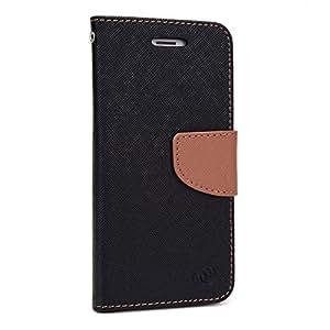 Kroo Flip Folio Wallet for Apple iPhone 6 - Non-Retail Packaging - Black