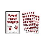 Horror Zombie Attack Bloody Letters Fridge Magnets