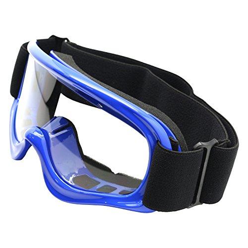 TMS YOUTH BLUE OFF-ROAD GOGGLES MOTOCROSS DIRT BIKE ATV MX (AS10-B) Atv Motocross Goggles