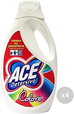 ACE+ Set 4 Lavadora 25 Lavados Color Nuevo detergente para la Ropa ...