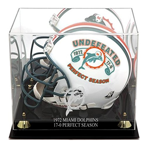 1972 Miami Dolphins Team (Miami Dolphins Golden Classic 1972 Commemorative Logo Helmet Case and Mirror Back)