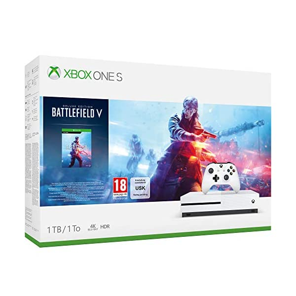 Videoentity.com 51s%2B1mlEVhL Xbox One S 1TB Battlefield V console