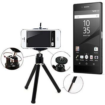 K-S-Trade Smartphone trípode/Soporte móvil/trípode como para Sony ...