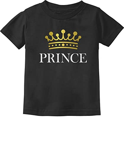 0d4b090511398 Prince Crown Gift for Son, Brother Little Boys Toddler/Infant Kids T-Shirt