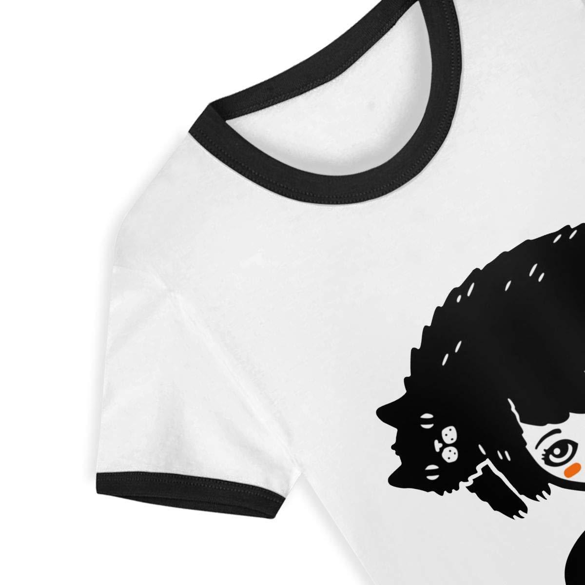 Cat Hair Summer Basic Kids Short Sleeve Tee Short T Shirts