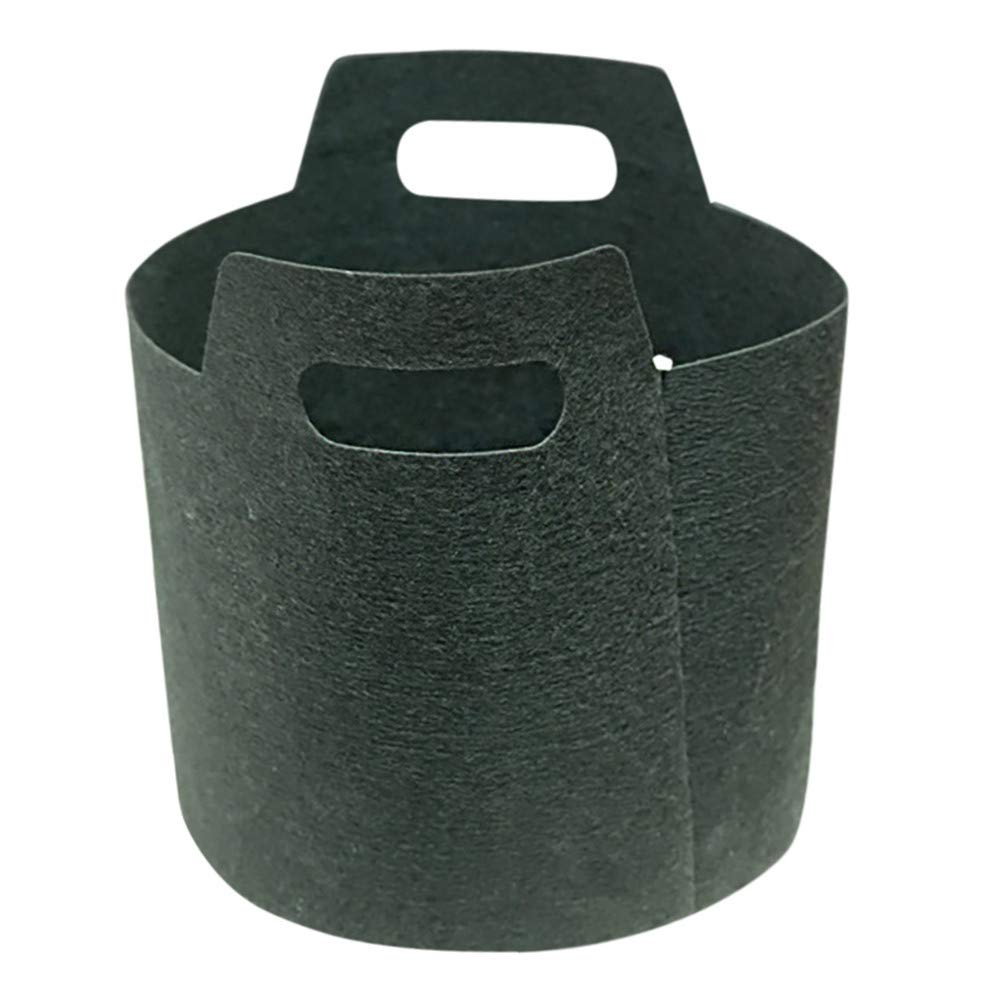 Grow Bags,Gallon Heavy Duty Aeration Fabric Grow Bags Thickened Nonwoven Fabric Containers for Potato/Plant Pots with Handles (Gallon-1)