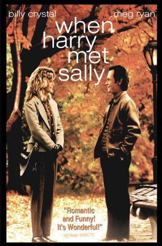 When Harry Met Sally Poster Movie B 11x17 Billy Crystal Meg Ryan Carrie Fisher Bruno Kirby When Harry Met Sally Poster