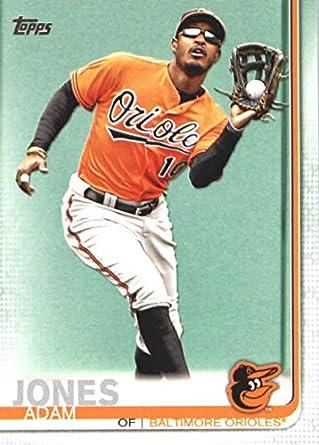 bf0ba8a1f Amazon.com  2019 Topps Baseball  8 Adam Jones Baltimore Orioles ...