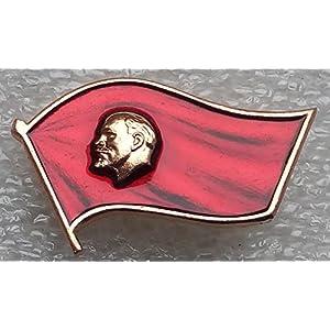 #2 V I Lenin USSR Soviet Union Russian Communist Bolshevik Historical Pin Badge