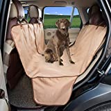 HAPYFOST Pet Car Seat Cover, Quilted, Water Resistant, and Machine Washable,TAN Review