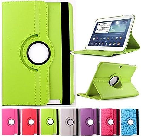 Funda para Tablet Bq Edison 3 10.1 Quad Core Giratoria 360/º Verde