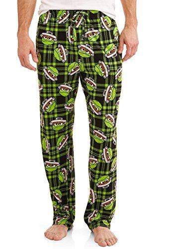 - Sesame Street Men's Character Pajama Sleep Pants (XX-Large, Oscar The Grouch)