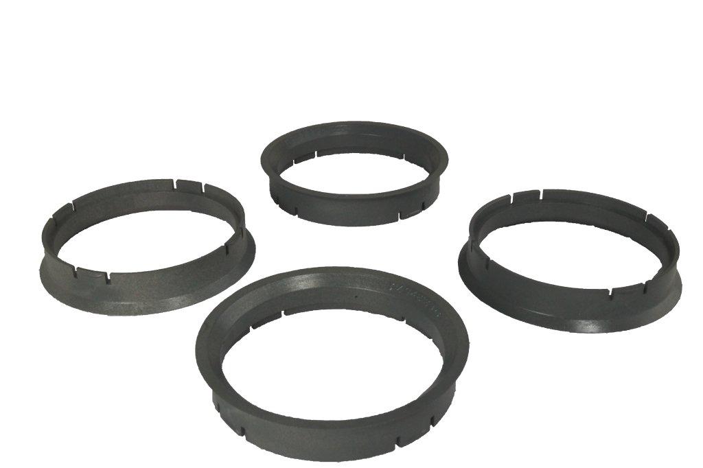 4 Zentrierringe 63, 3 mm - 57, 1 mm WamSter
