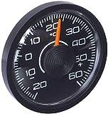 "hr-imotion 10010001 Innen-Thermometer ""Slim"" für Auto, Heim, Camping, uvm.  [ selbstklebend | Made in Germany   - 20° C - + 60° C]"