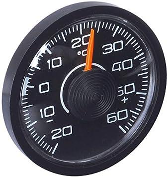 HR-imotion 10010201 Termómetro Autoadhesivo para Coche, hogar o Camping, para Uso en