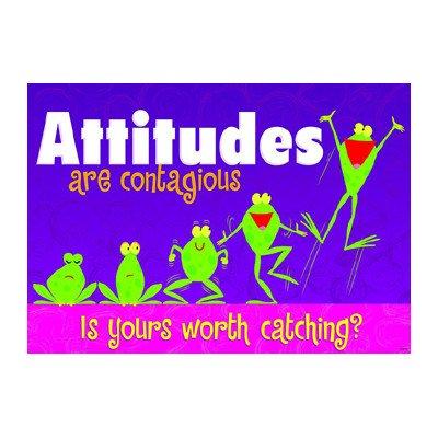 Attitudes Are Contagious Poster [Set of 3] ()