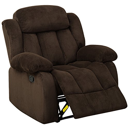BONZY Recliner Chair - Brown Only $174 Shipped (Was $459)