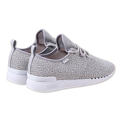 cheap sale with mastercard low price fee shipping for sale Djinns Men's Moclau Squeeze Ii Herren Sneaker Low-Top Light Grey WuhaD