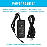 12V Power Supply 4A Transformer, AC100-240V Input 12VDC 4A Output Switching Adapter 48W LED Power Adapter for LED Strip Light,US Plug, UL Listed