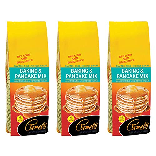 Pamela's Products Gluten and Wheat Free Baking and Pancake Mix - 24 oz- (Pack - 3)