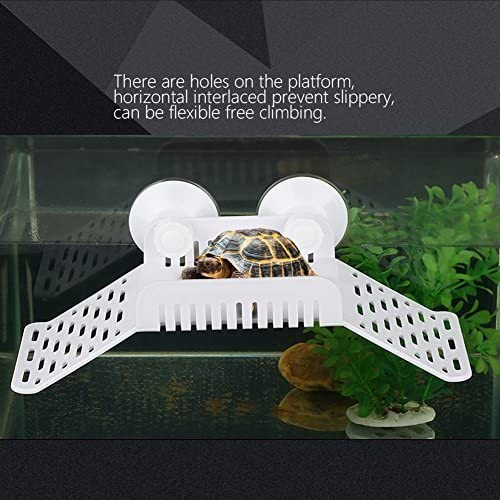 Houkiper Plastic Turtle Floating Platform with Suckers
