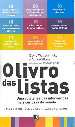 Livro Das Listas - Uma Coletânea Das Informações Mais Curiosas Do Mundo