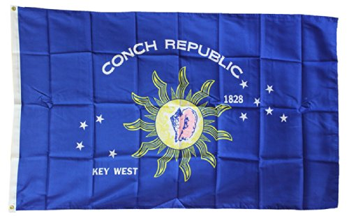 Conch Republic - 3x5' Dura-Poly™ Polyester Flag by Flaglin