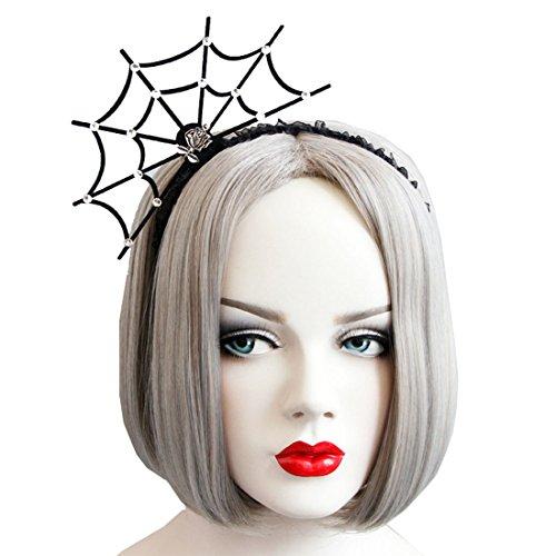 (Love Sweety Halloween Spider Ghost Pumpkin Hair Hoop Cosplay Devil Headband (Spider)