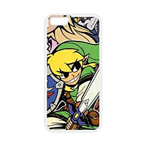 iPhone 6 Plus 5.5 Inch Cell Phone Case White Zelda Link BNY_6956188