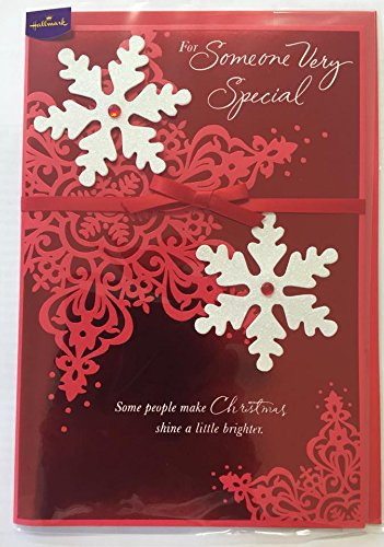 Amazon hallmark handmade luxury nice vers someone very special hallmark handmade luxury nice vers someone very special christmas greetings card m4hsunfo