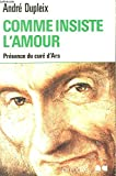 img - for Comme insiste l'amour book / textbook / text book