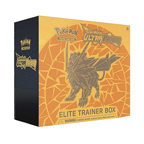 Pokemon Tcg  Sun And Moon Ultra Prism Necrozma Elite Trainer Box Dusk Mane