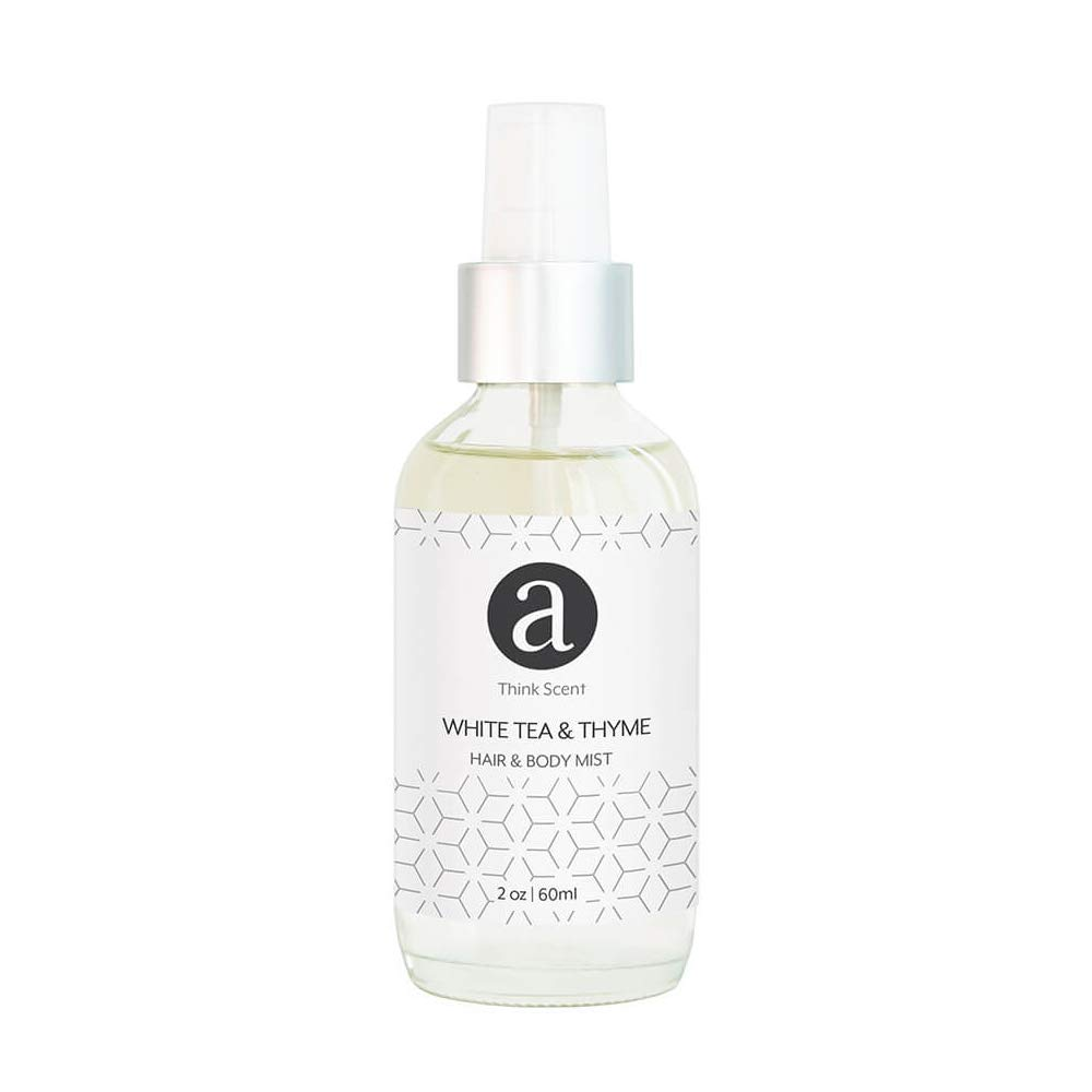 White Tea & Thyme Hair & Body Mister - 60ml by AromaTech