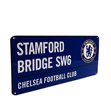 Chelsea F.C. - Cartel decorativo (40 x 18 cm), diseño de ...