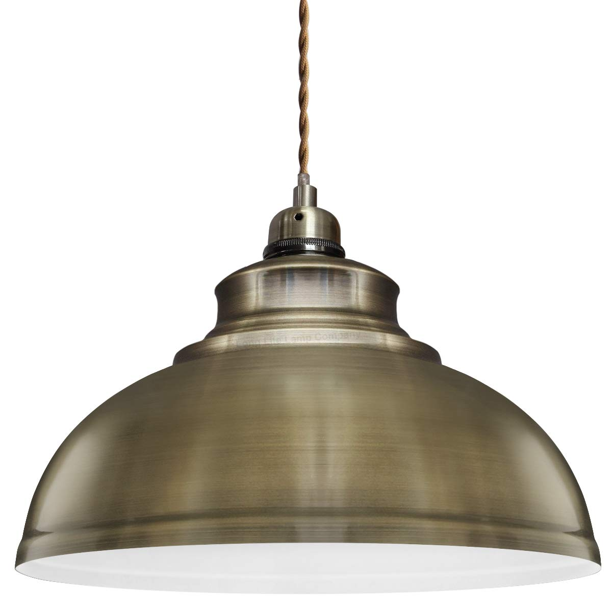 new arrival 6592b 311a1 Modern Vintage Antique Brass Pendant Light Shade Industrial Hanging Ceiling  Light Ideal For Dining Room Bar Clubs & Restaurants