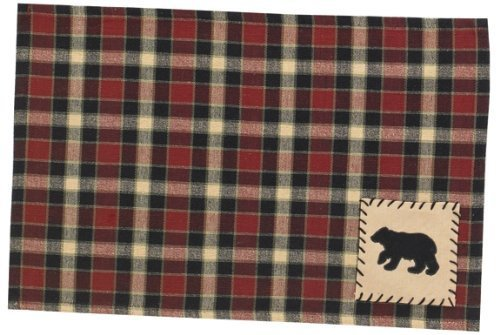 Concord Bear Patch Placemat- Set of 2 by Cher Bear Decor by Park Design