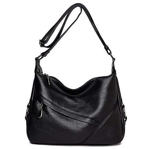 for Bags Large Duofeiya Ladies Crossbody Women Shoulder Bags Black Bag Tote Satchel vavxIqfEwc