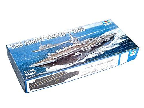 Trumpeter 1/700 05739 USS NIMITZ CVN-68 (2005 Trumpeter)