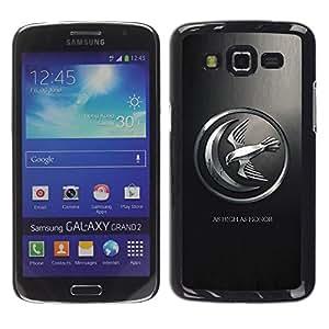 Be Good Phone Accessory // Dura Cáscara cubierta Protectora Caso Carcasa Funda de Protección para Samsung Galaxy Grand 2 SM-G7102 SM-G7105 // As High As Honor Mockingbird
