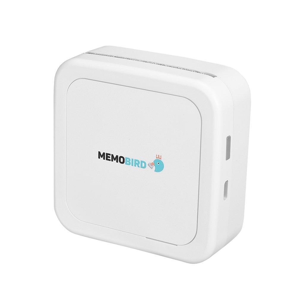 Amazon.com: MEMOBIRD GT1 Pocket Thermal Printer BT Wireless ...