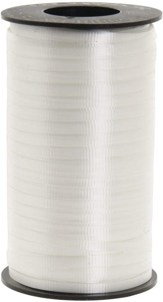 Berwick 1 01 Splendorette Crimped Curling Ribbon, 3/16-Inch Wide by 500-Yard Spool, White: Arts, Crafts & Sewing