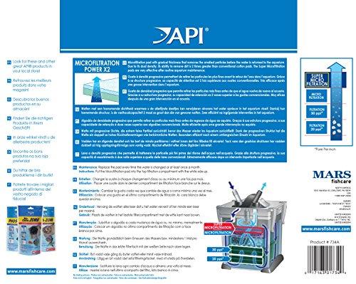 API MICROFILTION Aquarium Canister Filtration Pads 2-Count