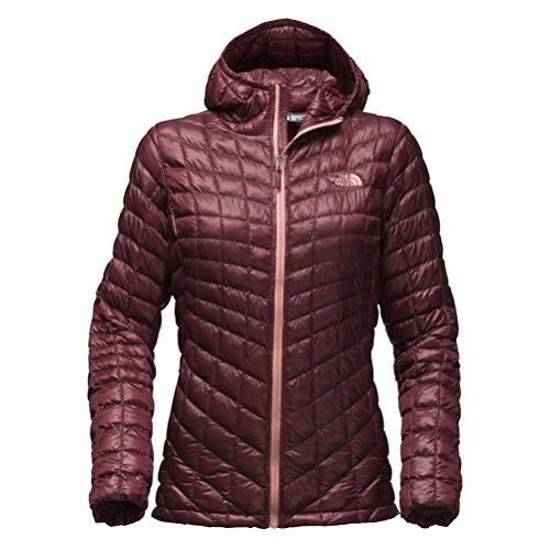The North Face Thermoball Hoodie Jacket - Women's Deep Garnet Red Large