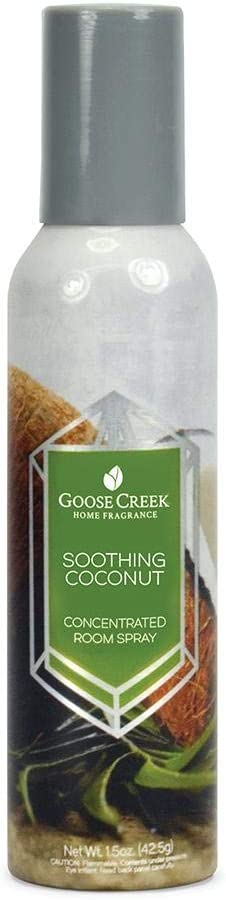 Goose Creek SOOTHING COCONUT concentrated room spray 1.5 oz.