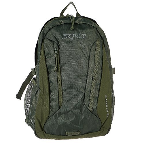 - JanSport JS00T14F0HC Agave Backpack, White Storm Camo