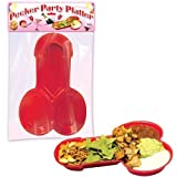 Hott Products Party Pecker Platter 2-Pack, Red by Hott Products