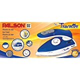 Palson 1000W Steam Travel Iron, Dual Voltage - MOST POWERFUL TRAVEL IRON 1000W - Free 2 Year Warranty