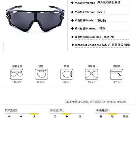 lunettes bleues sport moto plein femmes lentilles air hommes Verres vent coupe et CHshop de de PCxw06qzz
